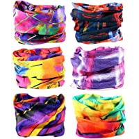 6PCS/15PCS 16-in-1 Multifunctional Headwear Yoga Sports Stretchable Casual Headband Seamless Uv Solid Moisture Neckwarmer Headwrap Mask Bandana Scarf