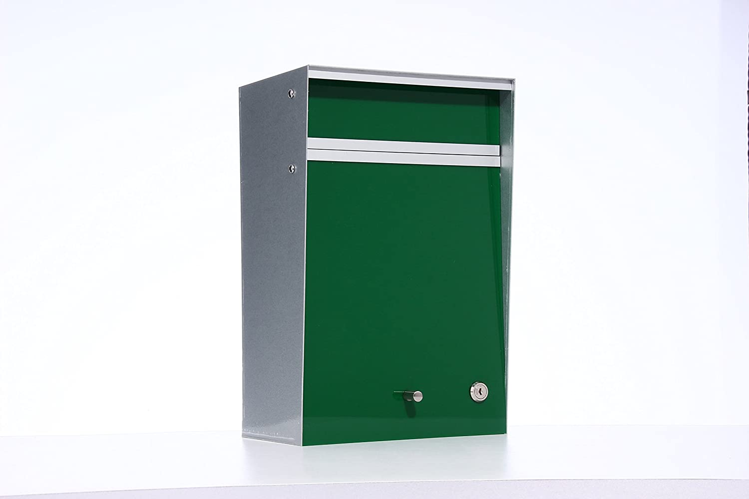 Box Design ポスト 郵便受け Wall Mounted  Green B00W6HVXCY 28080 Green Green