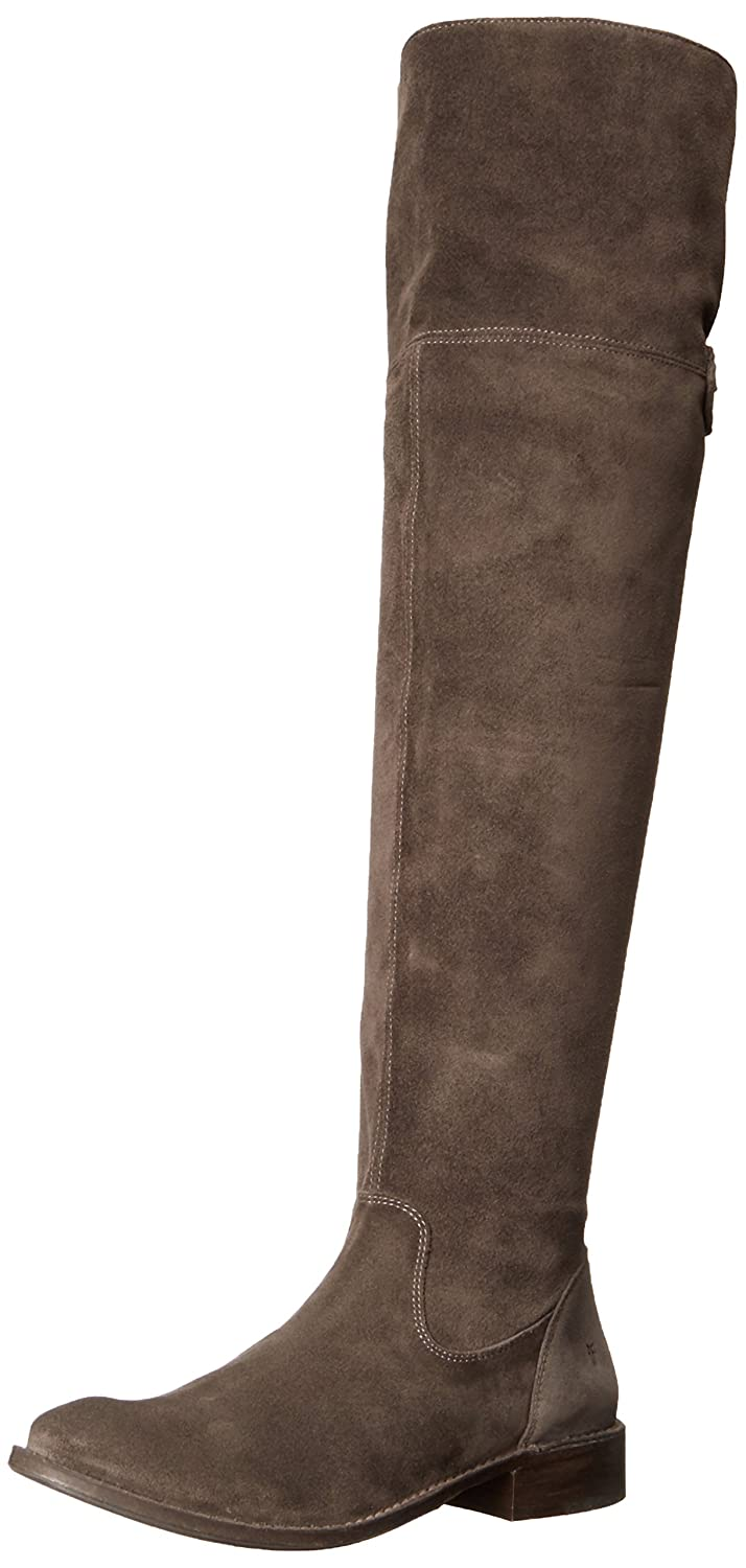Smoke Frye Womens Shirley OTK Suede Slouch Boot