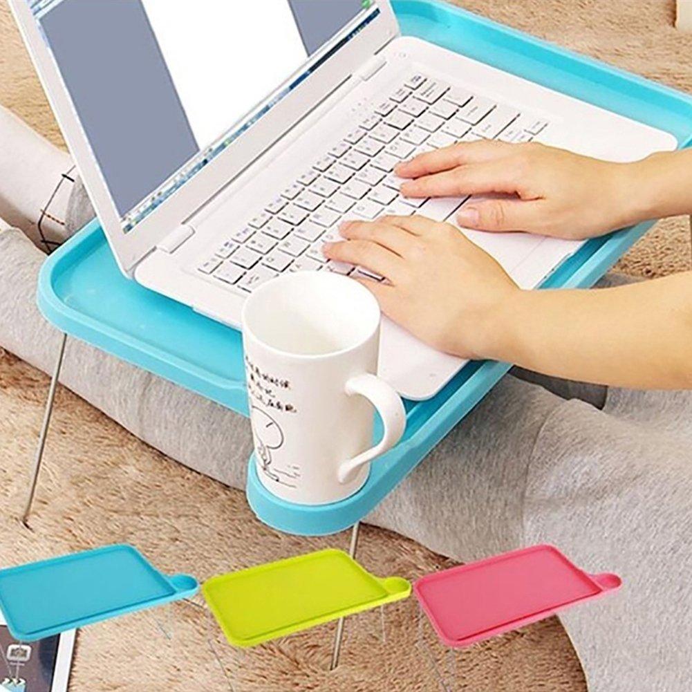 /Rosa Blue gfjhgkyu Ufficio Matita Vita Quotidiana Prncil Pieghevole Tablet Tavolo scrivania Computer Portatile Notebook Vassoio Supporto per Divano Letto/