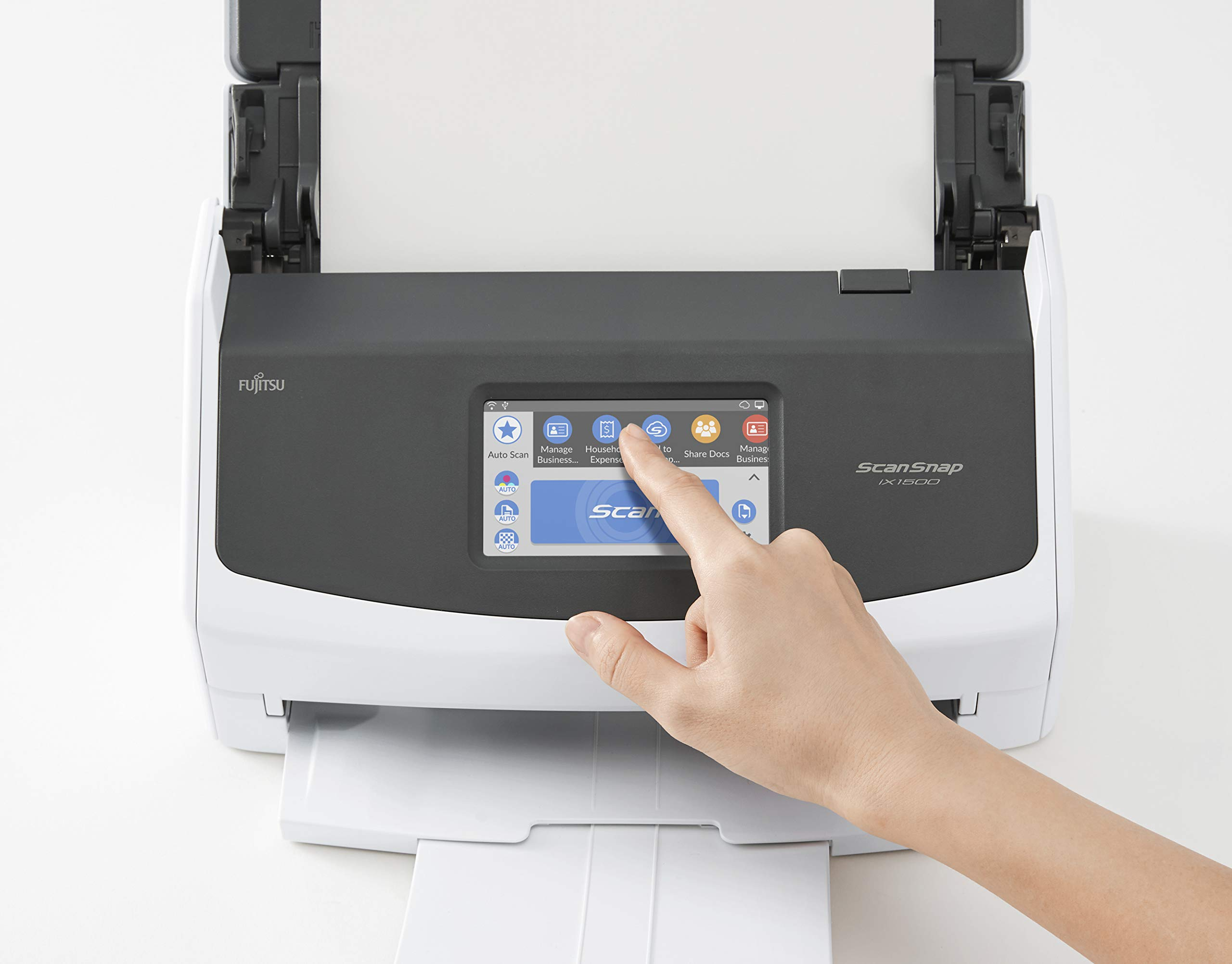 Fujitsu ScanSnap iX1500 Color Duplex Document Scanner with Touch Screen for Mac and PC [Current Model, 2018 Release] by Fujitsu (Image #4)