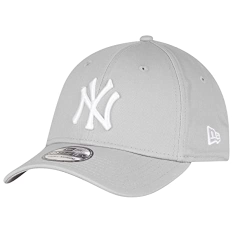 New Era New York Yankees Stretch Fit Cap Grey 3930 39thirty Curved Visor L  XL 2efa27bb68f