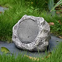 Roaming Light Multi-Linkable Solar Bluetooth Speaker(Single Pack), Remote Controller Included, Portable and Wireless for Outdoor use
