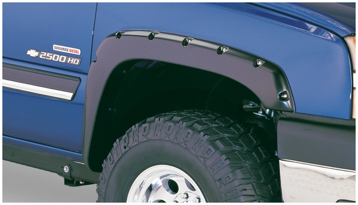 Silverado 2003 chevy silverado 1500 accessories : Amazon.com: Bushwacker 40918-02 Chevrolet Pocket Style Fender ...