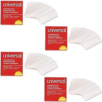 Amazon.com: Universal Transparente Bolsas de laminación, 100 ...