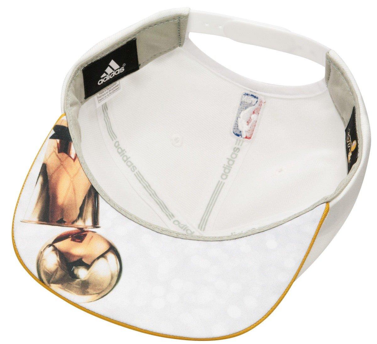 3ad31087936 adidas San Antonio Spurs 2014 NBA Finals Champions Locker Room Snapback Hat  - White  Amazon.co.uk  Sports   Outdoors