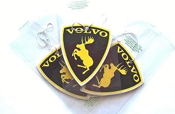 Freeco Volvo Xc60 S40 S60 Xc90 Black Car Air Freshener Auto