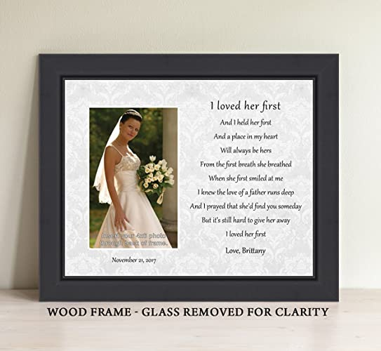 Amazon.com: Father of the Bride Gift, Personalize I Loved Her First ...