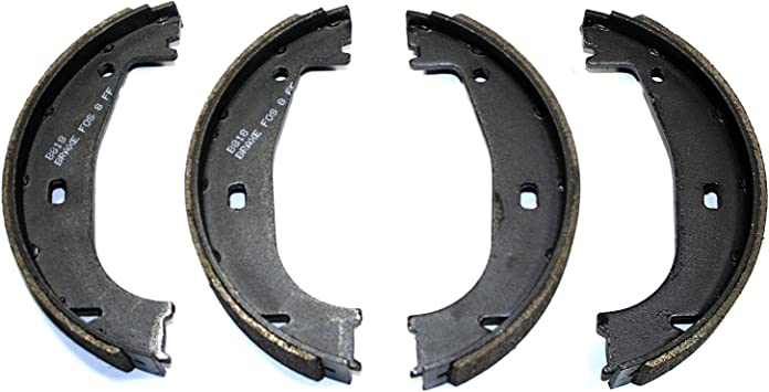 Bosch BS818 Blue Drum Parking Brake Shoe Set