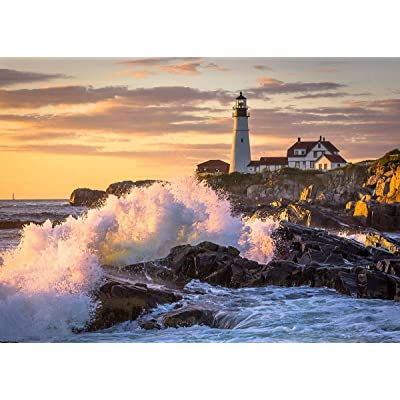 NA Adult Puzzle Jigsaw Lighthouse Puzzle DIY Toys for Adults Children Decoration 1000 Pieces: Toys & Games [5Bkhe0502994]
