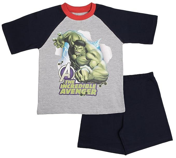 Pijamas para niños Hulk Avengers (7-8 años)