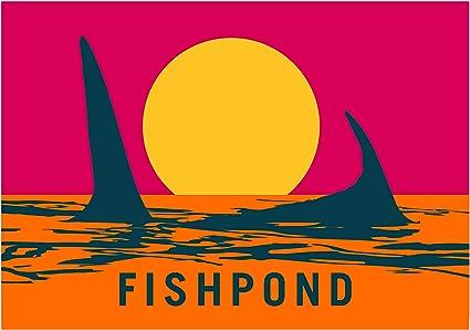 """5/"""" Fishpond Endless Permit Sticker"""