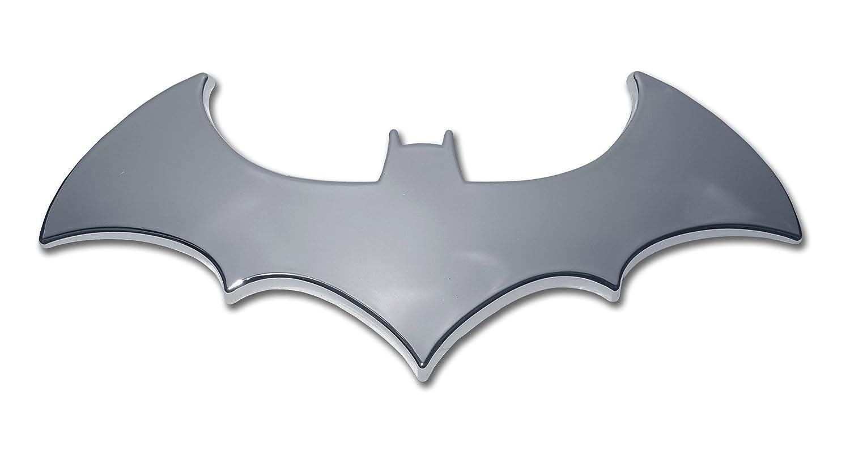 Amazoncom Batman 3D Bat Chrome Auto Emblem Automotive
