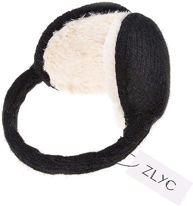 NCONCO Earmuffs for Ladies Ear warmer Women Girls Winter Folding Warm Furry Ear Covers