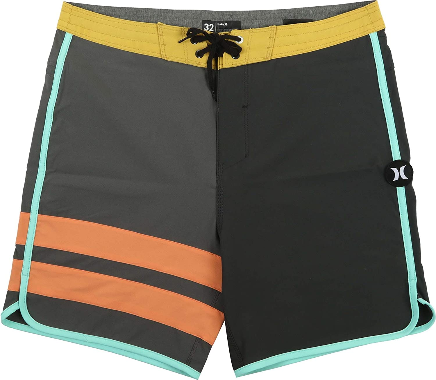 Hurley Phantom Block Party 18 Boardshorts Iron Grey