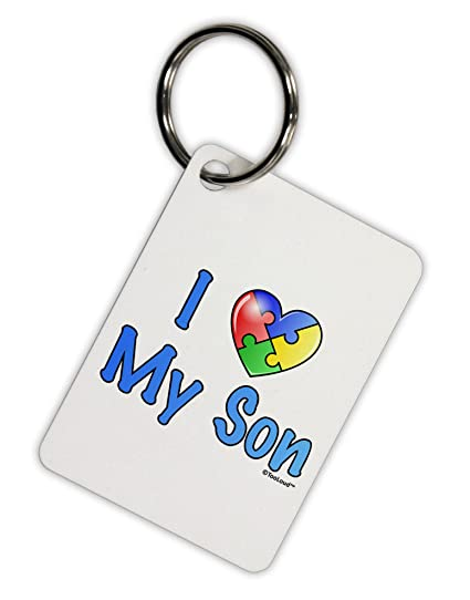 TooLoud I corazón mi hijo - autismo sensibilización aluminio ...