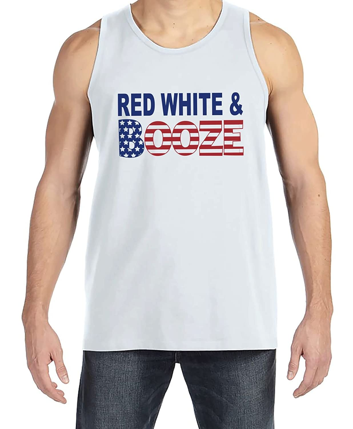 43bcf2cd3294b Source · Amazon com 7 ate 9 Apparel Men s Red White Booze 4th of July White  Source · American Flag Clothing ...