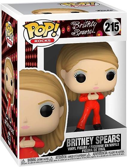 Funko Rocks Spears-Catsuit Britney Pop Vinyl 52034
