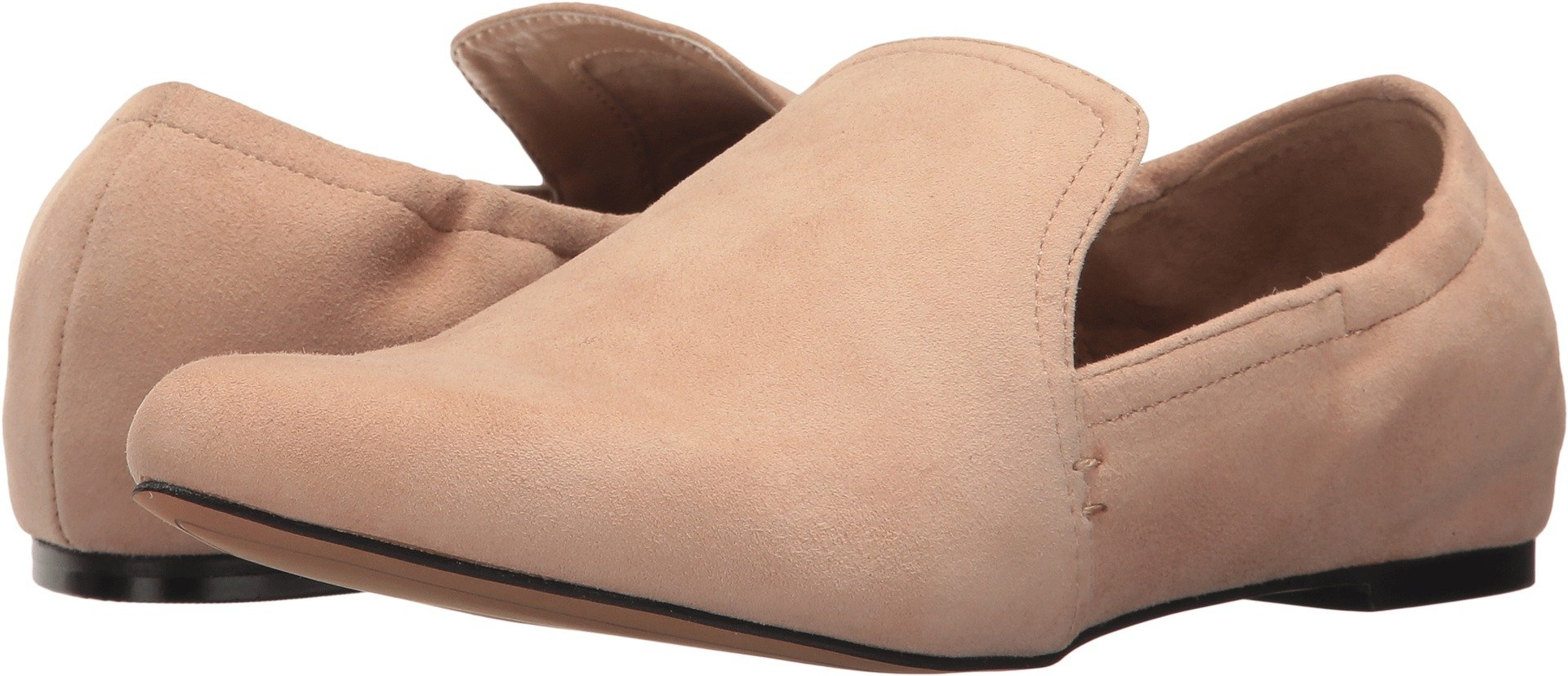 Dolce Vita Women's Hamond Loafer Flat, Blush Suede, 7.5 Medium US