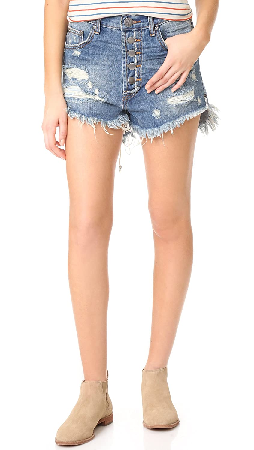 One Teaspoon Women's Royale Outlaws Shorts