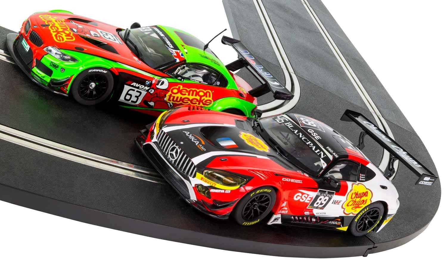 Scalextric C1356T ARC ONE Ultimate Rivals Slot Car Set by Scalextric (Image #5)