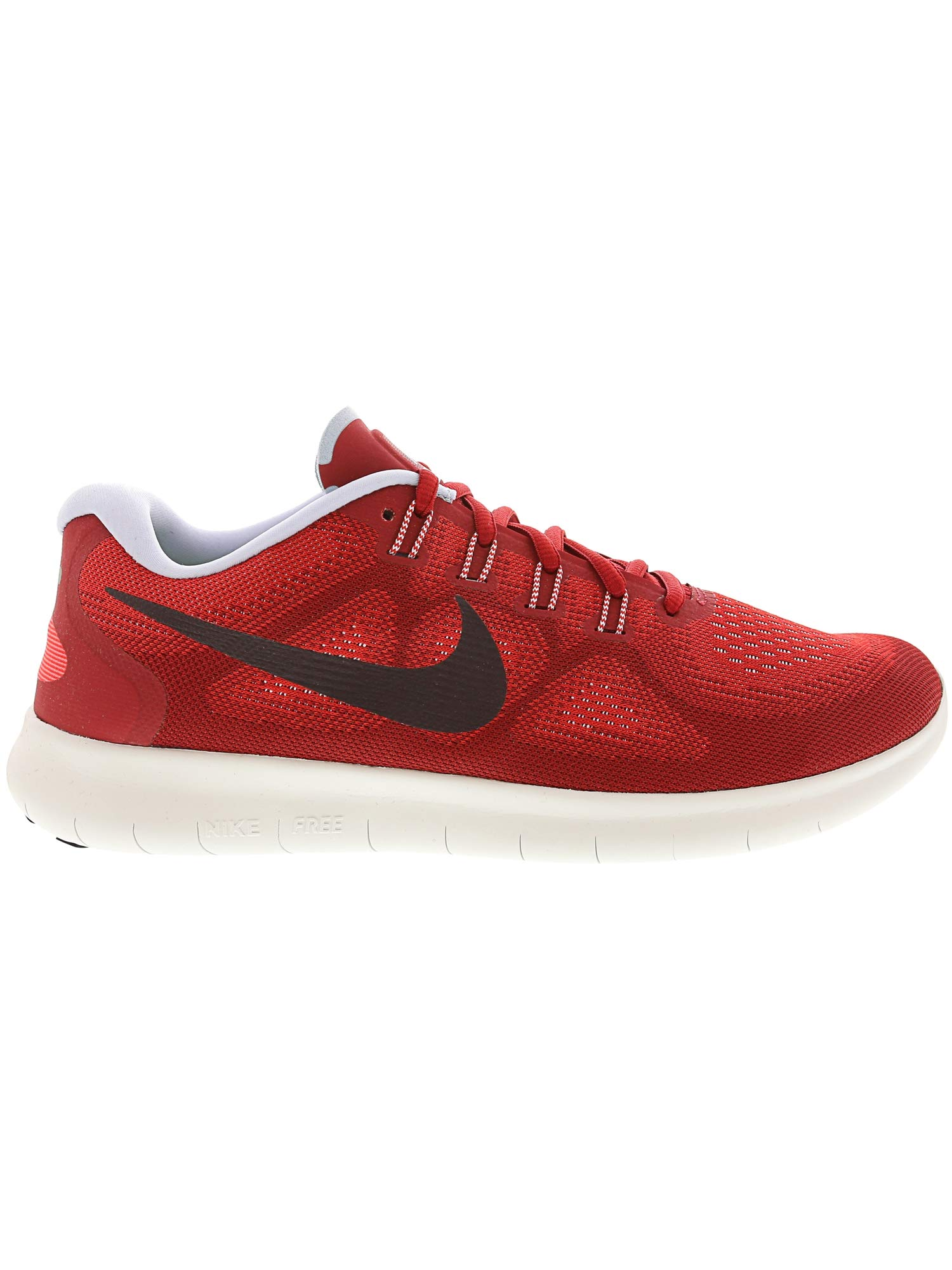 Nike Free RN 2017 Mens Running Trainers 880839 Sneakers Shoes (UK 7 US 8 EU 41, University red Port Wine 602) by Nike (Image #4)