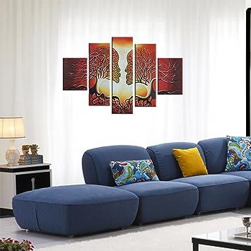 raybre art piezasset pintados a mano sobre lienzo cuadros modernos