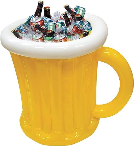 Amazon.com: Jumbo Jarra de cerveza hinchable Cooler: Kitchen ...