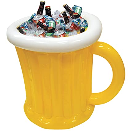 Ordinaire Inflatable Beer Mug Cooler For Outdoor Backyard BBQ Pool Party