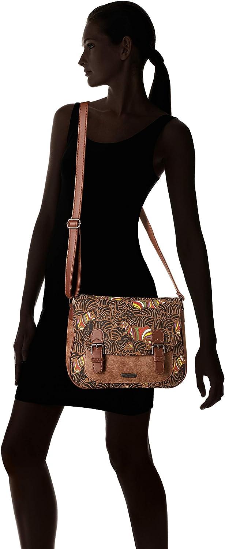 Little Marcel femme Qu23-lm-brown Sacs bandouliere Marron Brown