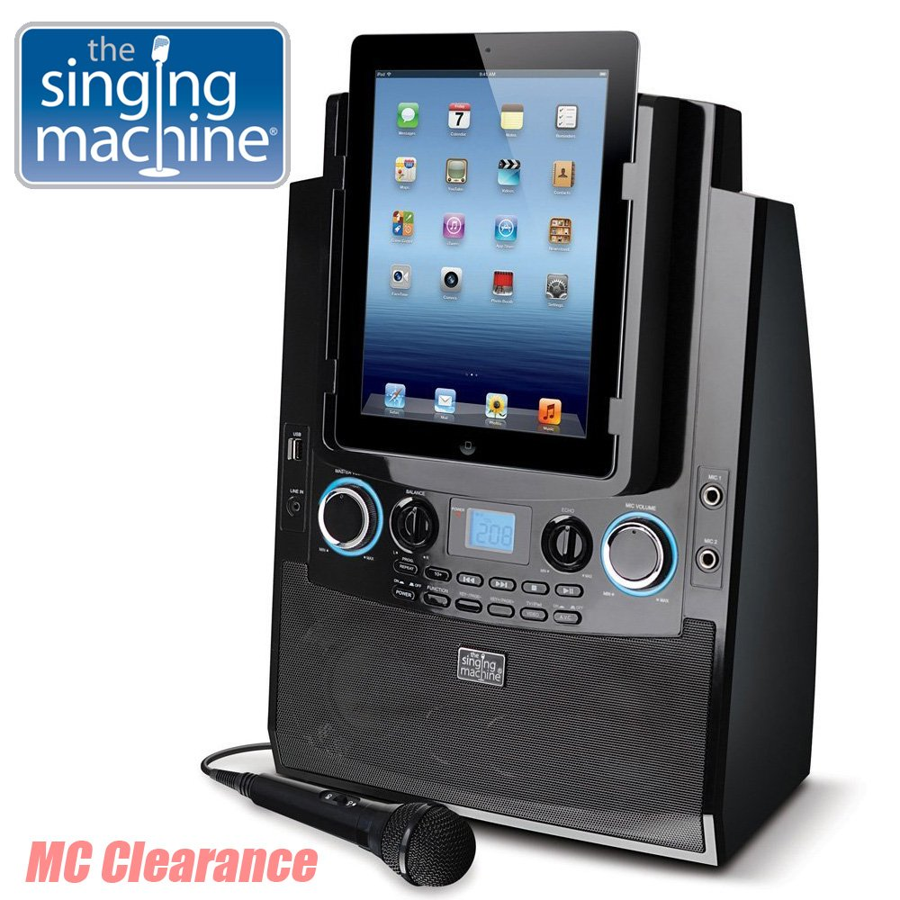 The Singing Machine ISM990 Karaoke System for iPad and iPhone (Renewed)