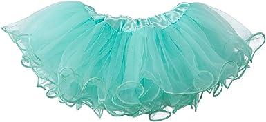 Newborn - 3mo. My Lello Baby Tutu Ruffled Scallop Edge Skirt 5-Layer
