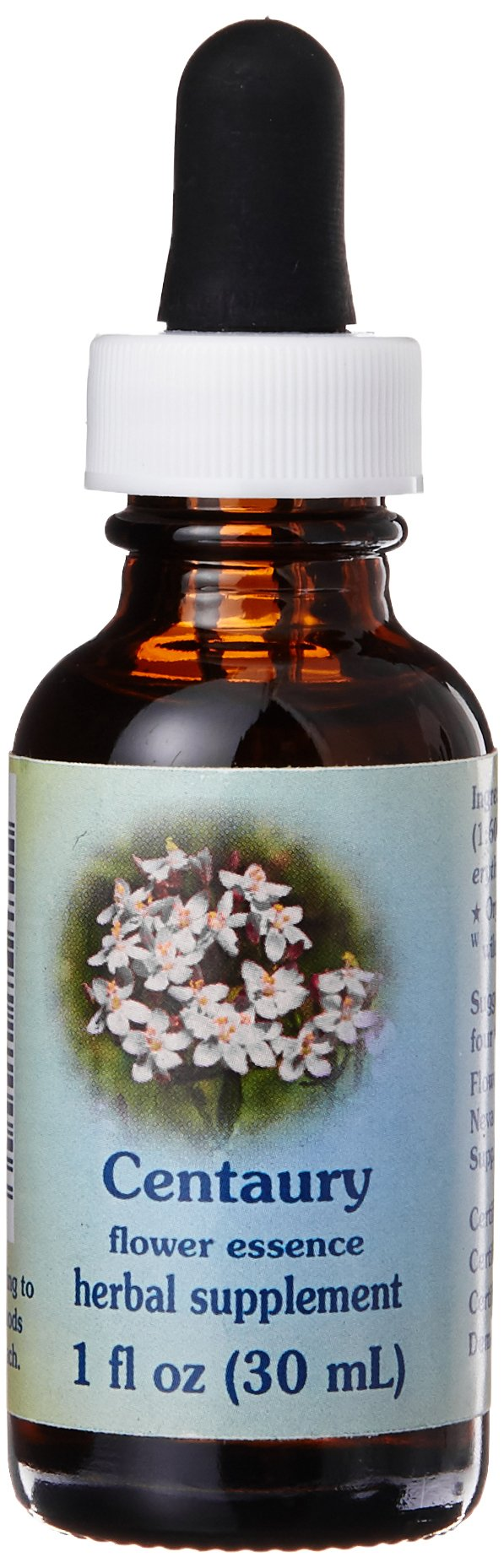 Flower Essence Services Dropper Herbal Supplements, Centaury, 1 Ounce