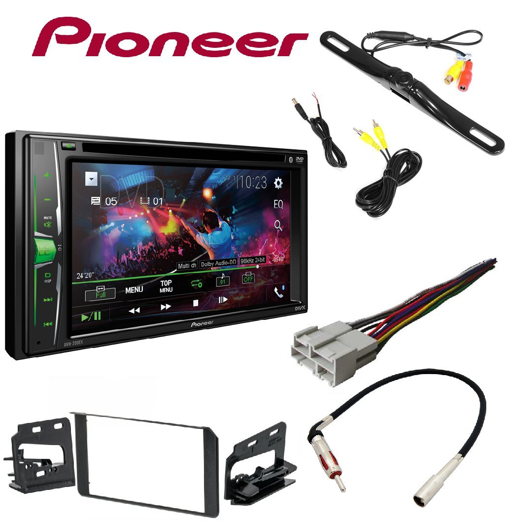 Pioneer Avh 200ex 2 Din 62 Dvd Cd Iphone Android Ford Wiring Harness Kits Bluetooth Metra Double Stereo Installation Dash Kit Chevy Gmc Cadillac Set W