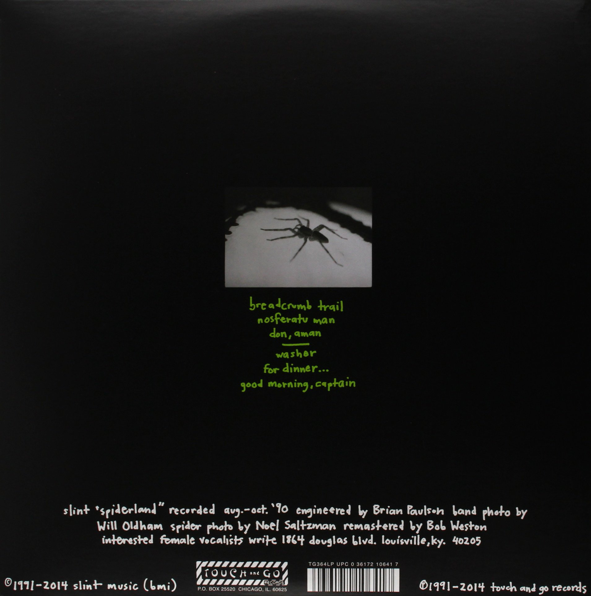 Spiderland (Remastered) [LP + DVD + MP3] by Touch & Go