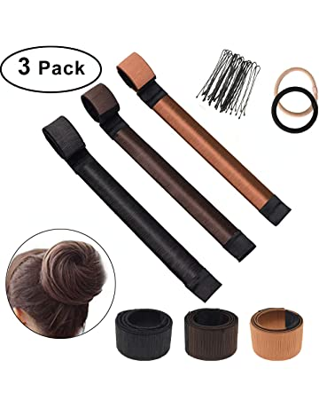 Bofekt 3 Pcs Hair Bun Maker Set, mujeres de la moda Girls Magic Hair Bun