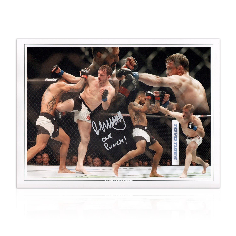 Seleccione de las marcas más nuevas como Exclusivememorabilia    Foto de UFC firmada por Brad Pickett  exclusivo
