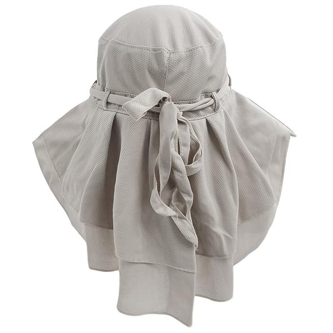 Amazon.com: LETHMIK para mujer plegable sombrero de sol, Al ...