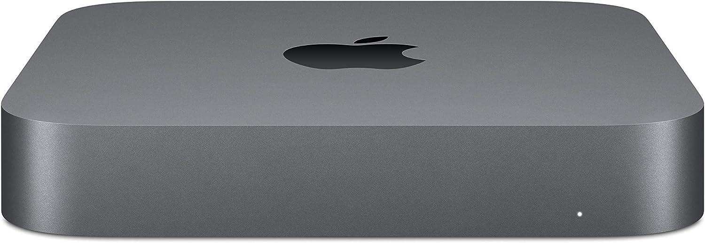 Apple Mac Mini (512GB SSD, Intel Core i5 8th Gen, 3.00 GHz, 8GB) Gray - MXNG2LL/A (Renewed)
