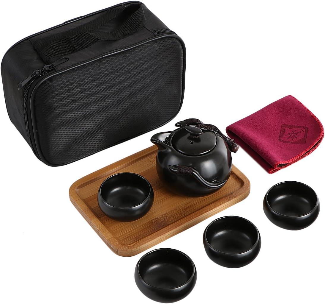Juego chino/japonés portátil juego de té - Ideal viajes o regalo