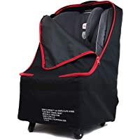 Simple Being Baby Car Seat Travel Bag, Gate Check, Infant Carriers Booster Cover Protector for Air Travel (Black with…