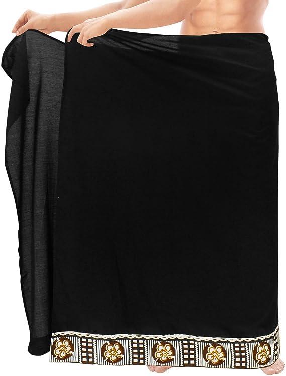 LA LEELA - Vestido corto de mujer Rayon Kaftan, túnica, bordado, kimono, para fiestas, vacaciones, para la playa, para todos los días