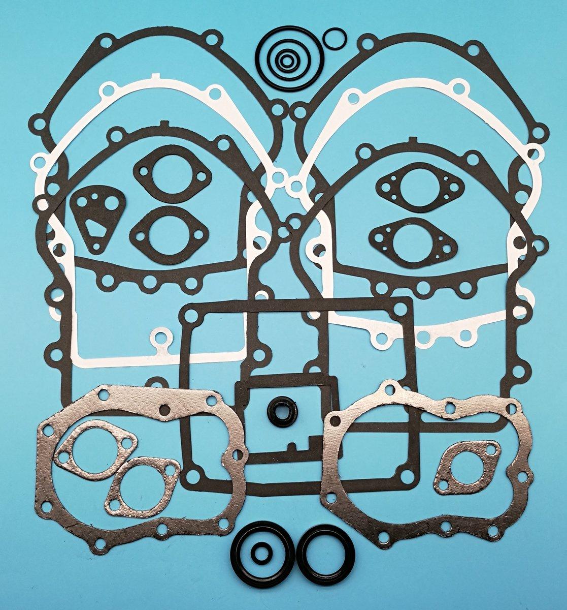 Tuzliufi Replace Top End Engine Gasket Kit Kawasaki KAF620 KAF 620 Mule 2500 2510 3000 3010 3020 4000 4010 1994-2003 2004 2005 2006 2007 2008 2009 2010 2011 2012 2013 2014 2015 2016 2017 2018 Z278