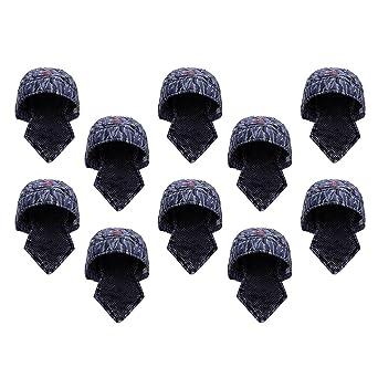 Sharplace 10pcs Sombrero de Soldador Protectivo Gorro de Algodón Complementos de Automóvil Cortacéspedes Jardín