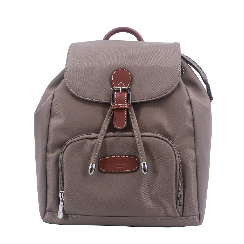 9d88984cccc75 Petit sac à dos femme HEXAGONA Cradle bleu marine: Amazon.fr: Chaussures et  Sacs