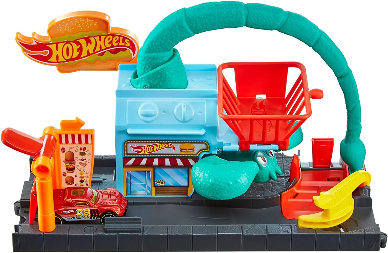 Hot Wheels El Ataque del Escorpión, pista de coches de juguete ...