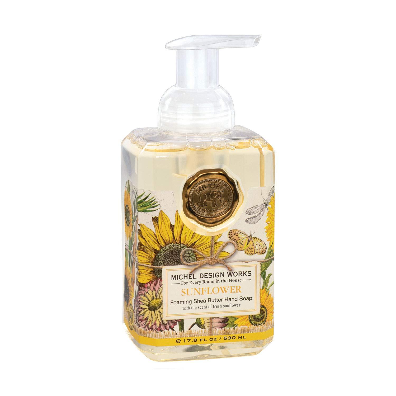 Michel Design Works Foaming Hand Soap, 17.8-Fluid Ounce, Sunflower