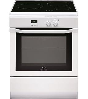 c1d66ec3f83e6 Indesit IC63I6C6A (W) / FR Cuisinière Plaque avec zone à induction A Blanc  four