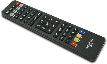 Metronic 495392 ZAP4 - Mando a distancia universal para TV, TDT, DVD y AUX, negro: Amazon.es: Electrónica