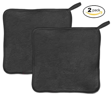 BLACK CHEM-FREE Makeup Remover - Facial Cleansing Cloth - Chemical Free - Natural Makeup... Dr. Jart+ Dermask Rubber Mask Clear Lover 1 Sheet Pore Care Close Fit Easy Use